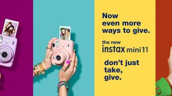Fujifilm lanserar instax mini 11 -Ersättaren till världens mest sålda direktbildskamera