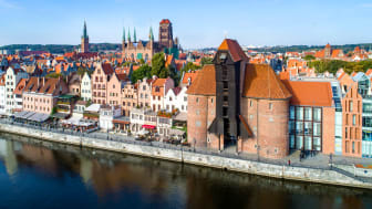 View of central Gdansk. Photo: Getty Images.