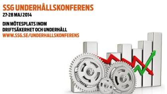 SSG Underhållskonferens delar med sig av erfarenheter till industrin