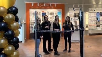 Här öppnar Synoptik sin 145:e butik i Haninge på Port 73.