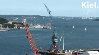 Mit der HD Webcam den besten Blick über die  Kieler Förde genießen
