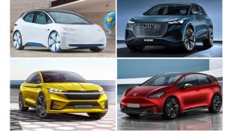 Volkswagen Group skyder for alvor gang i offensiven indenfor e-mobilitet i 2020, hvor de første MEB-baserede elbiler introduceres.