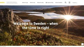 Visit Swedens sajt vinner Publishingpriset 2020