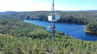 Ragunda och Hammarstrand får luftburet bredband