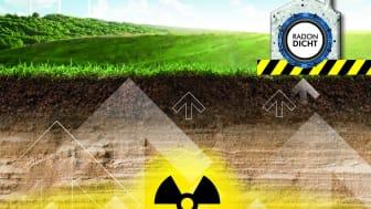 Das radioaktive Bodengas Radon ist in einigen Regionen Deutschlands ein ernstzunehmendes Problem