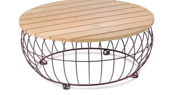Basket bord/table. Design Ola Gillgren