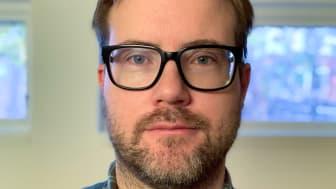 Niklas Edberg, forskare vid IRF:s Uppsalakontor har beviljats 2,92 miljoner kronor i forskningsanslag från Vetenskapsrådet. Foto: privat