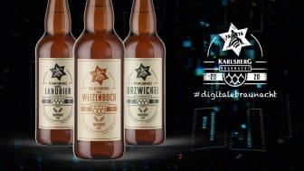 Am 29. findet die erste digitale Braunacht der Karlsberg Brauerei statt.