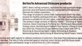 BeYouTe Advanced Skin Care Products