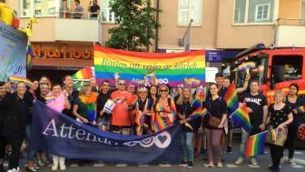 Bild från Stockholm Pride 2015.