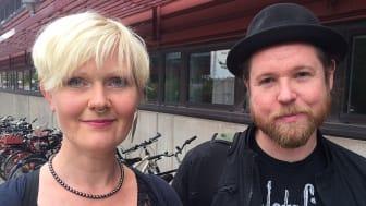Anna-Carin Fagerlind Stahl och Christian Stahl