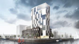 Midroc utvecklar WTC Helsingborg med kontor och ett hotell med konferens.