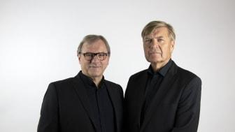 Peter Sandwall och Lars Mörlid.