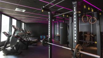 Här tränar du i ett arkitektritat gym med miljön i fokus.