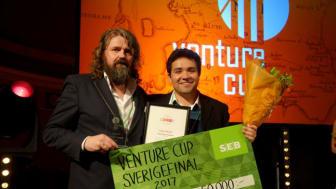 Organofuel Sweden vann priset Impact Maker. Fotograf Mathilda Thudin