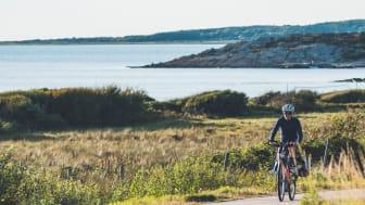 Visit South Sweden, ska locka danskar till Sydsverige efter pandemin, med bland annat naturaktiviteter. Kattegattleden, Ugglarp. Foto Ron Johansson.