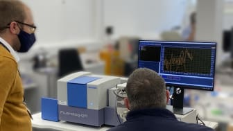 A new state-of-the-art Fluorescence Spectrometer has been installed in a lab within Northumbria's department of Mathematics, Physics and Electrical Engineering.