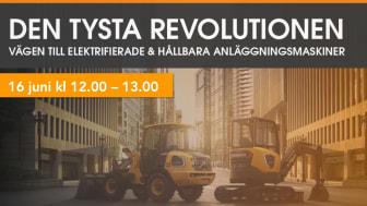 Den tysta revolutionen – seminarium 16 juni kl 12-13