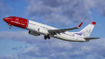 Positiv tendens i Norwegians trafiktal for maj