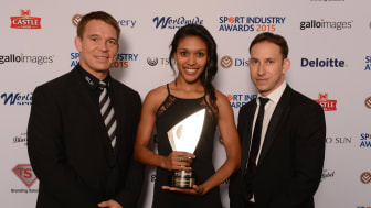Best in the business recognised at Discovery Sports Industry Awards 2015