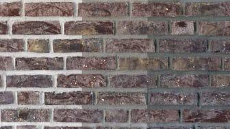 Finja utvider sortimentet på farget mørtel og fremmer gjenbruk av murstein