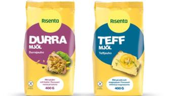 Två glutenfria nyheter i mjölhyllan från Risenta