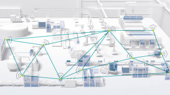 WLAN Mesh for automation networks