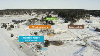 Volvo CE öppnar nytt test- och demoområde för hållbar kraft, uppkoppling och autonoma lösningar