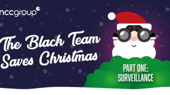 The Black Team saves Christmas - Part one: surveillance