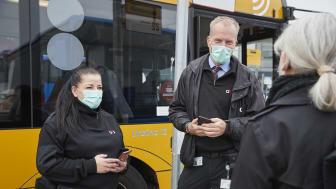 Selvbetjening i alle Midttrafiks busser