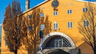 Listers Härads Tingshus på Ungersgatan i Sölvesborg. Foto: Sölvesborgs kommun
