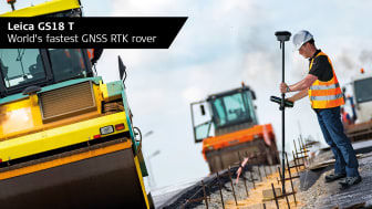 GS18 T erbjuder lutningskompensation som är både kalibreringsfri och helt okänslig för magnetiska störningar.