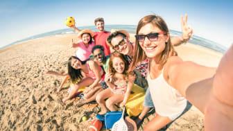 Danskerne går amok i feriebilleder