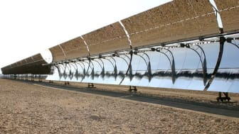 Solar Thermal Energy - parabolic troughs