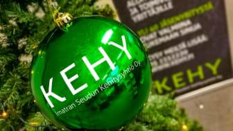 Kehyn tiimi toivottaa kaikille oikein hyvää joulua ja menestyksekästä uutta vuotta 2021!