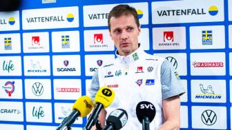 Daniel Fåhraeus, Svenska Skidförbundets längdchef ger besked om ännu en inställd Världscuptävling