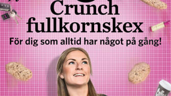 Crunch - nya mellanmålskex från Gille