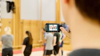 Filmning av fysisk aktivitet vid GIH