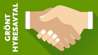 Gröna hyresavtal i Videum Science Park