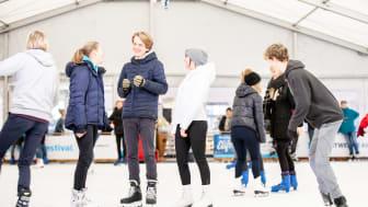 Acht Wochen Eisvergnügen für Jedermann beim Stadtwerke Eisfestival Kiel
