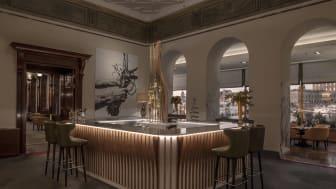 Grand Hôtels nya champagnebar Foto: Andy Liffner