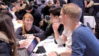 Bild från Innovation Camp under Södertälje Science Week