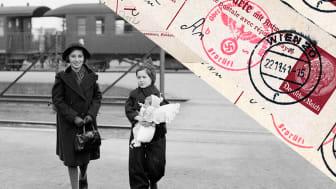 """Foto från utställningen """"Jag kom ensam – Judiska flyktingbarn i Sverige"""""""