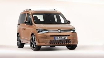 Caddy er for første gang baseret på MQB-platformen og er mere dynamisk i både udstråling og køreoplevelse.