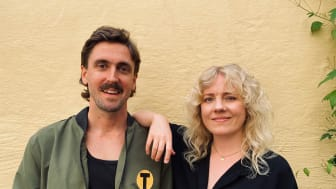 Tomas Rimeika och Ida Wiklund. Foto: Mattias Wachtmeister.