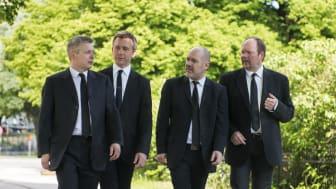 Stenhammar Quartet. Foto: Bo Söderström