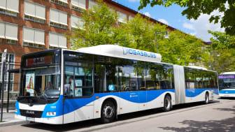 Tre av årets finalister i Bussförar-SM sitter till vardags bakom ratten i Svealandstrafikens bussar.