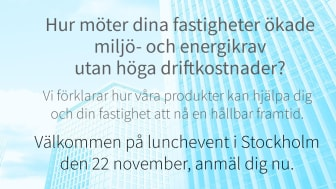 Inspirerande lunchevent i Stockholm