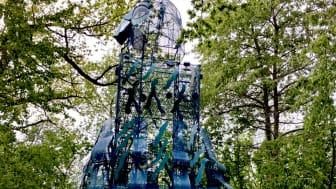 I Vadstena Folkets Park kommer tolv skulpturer att stå klara år 2021.