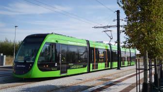 Invigningen av spårvägen i Lund blir ett helt digitalt event.